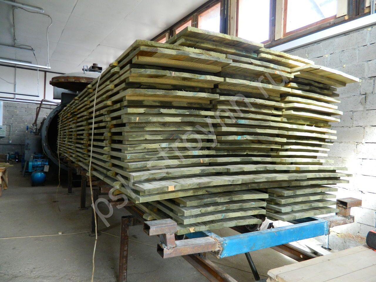 Импрегнация древесины